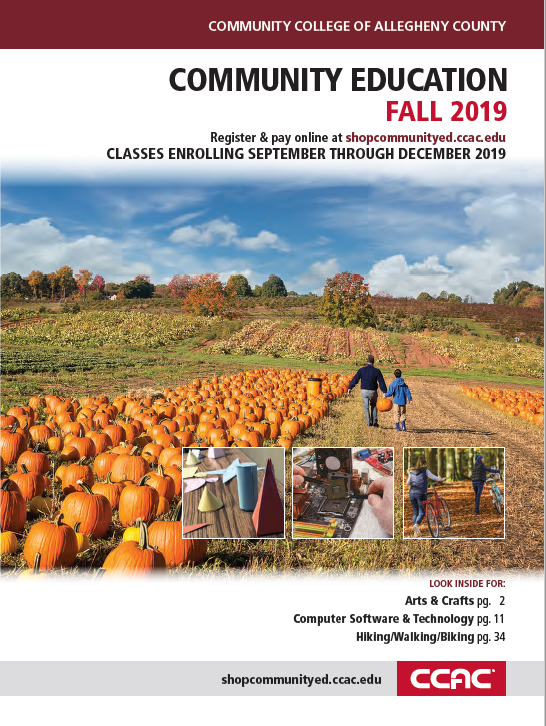 Community Education Fall 2019 Cover